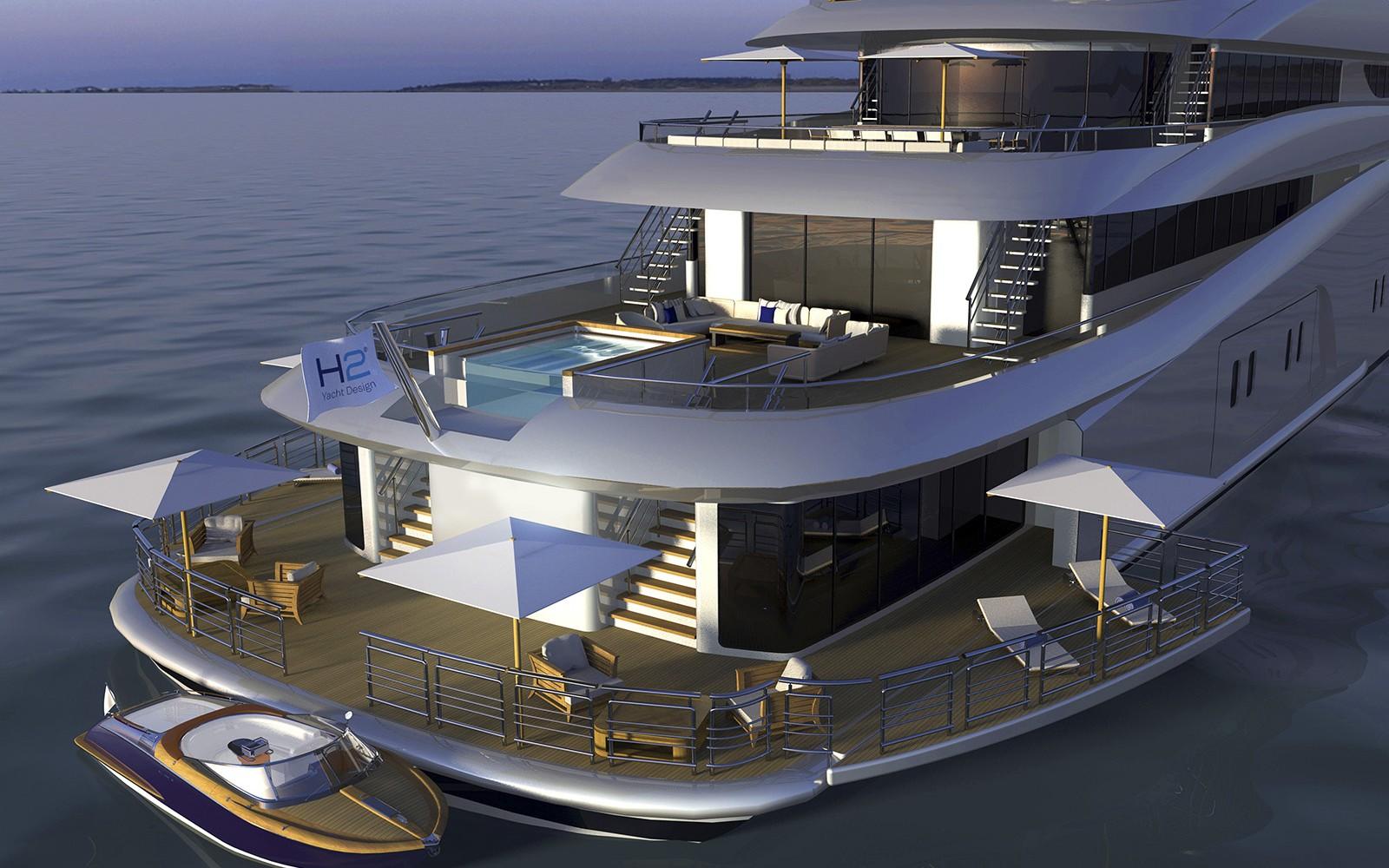85m Dorries Maritime on Mary Jean Ii Yacht