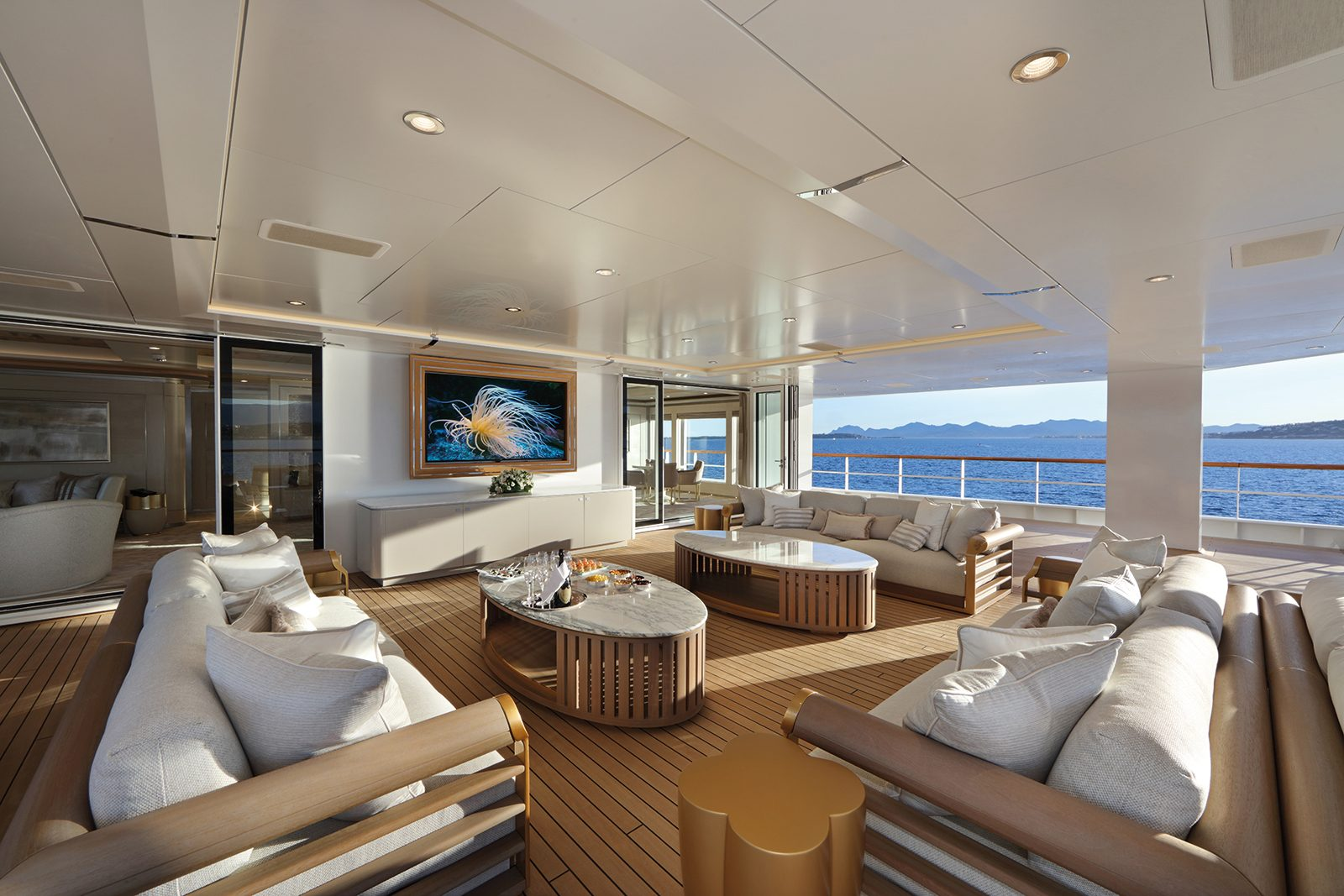 Ulysses h2 for Yacht interior design decoration